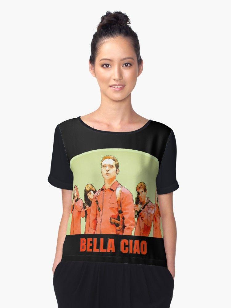 ca368ece37d Buy  Bella ciao la casa de papel berlin TOKIO rio Dali  by MimieTrouvetou as
