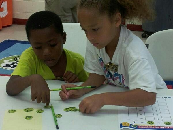 "Pics from WHRO Education's #OddSquadPBS themed ""Be the Agent"" summer math camp"