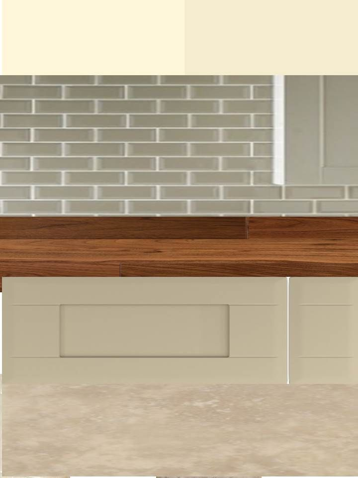 Kitchen Colour Scheme V4 Dakar Units And Walnut Worktop