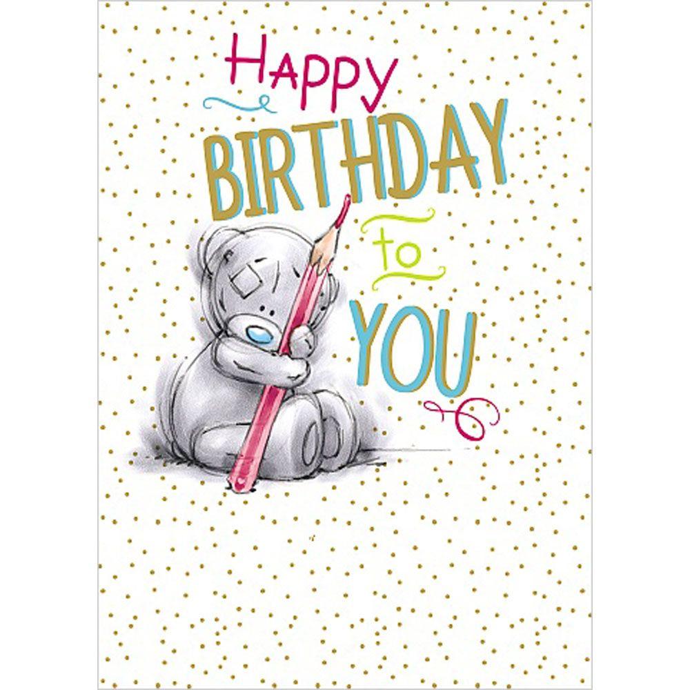 Happy Birthday to You Me to You Bear Card 179 – Tatty Teddy Birthday Cards