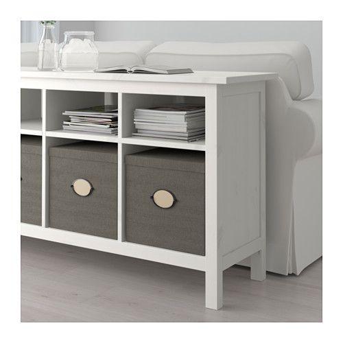Hemnes Console Table White Stain 61 3 4x15 3 4 Hemnes
