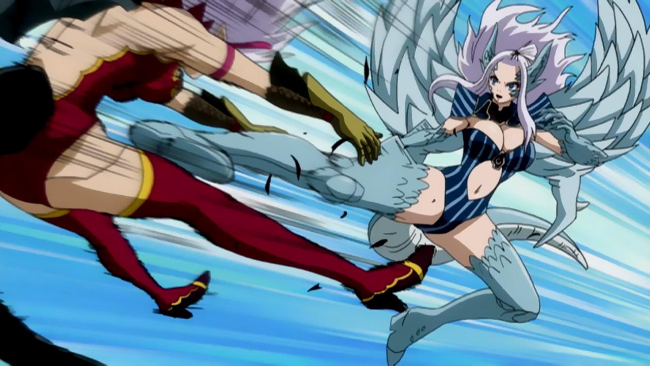 Mirajane Using Her Demon Halphas Mirajane Satan Soul Anime Jenny from blue pegasus | fashion show competition. mirajane using her demon halphas