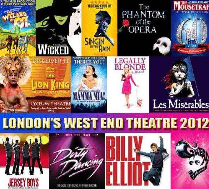 London west end theatre shows