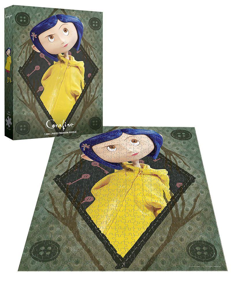 Coraline Be Clever 1000 Piece Puzzle Coraline Tim Burton Beetlejuice Coraline Games