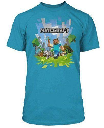 35934e4d5 Niño Minecraft Camiseta Mina Craft camiseta Adventure Logo con Steve -  algodón