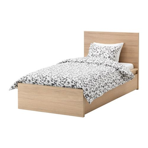 malm bed frame high w 2 storage boxes ikea the 2 large drawers on - Malm Bed Frame Ikea
