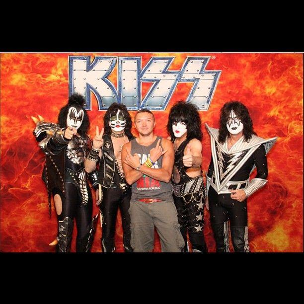Meeting KISS backstage