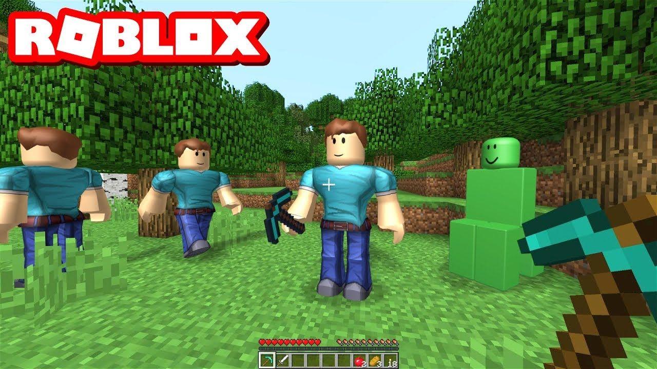 Best Minecraft Remake In Roblox Youtube Roblox Minecraft Remade