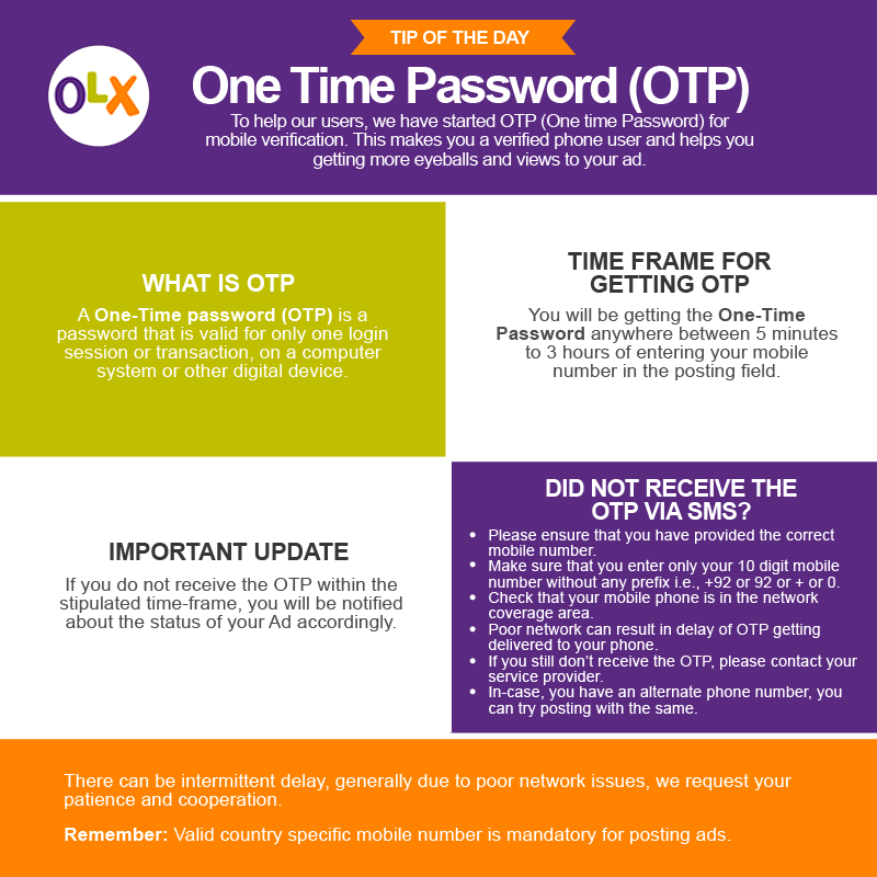 Pin By Olx Pakistan On Tip Of The Day Tip Of The Day One Time