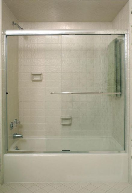Glass Shower Door With Towel Bar Bathroom Ideas Pinterest