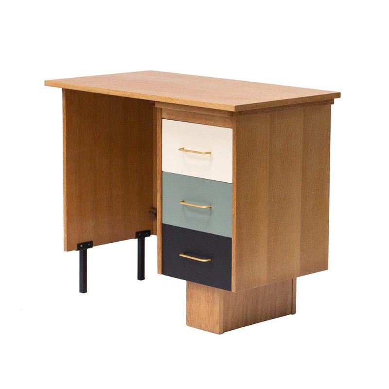 Bureau vintage années 50 60 #vintage #annees50