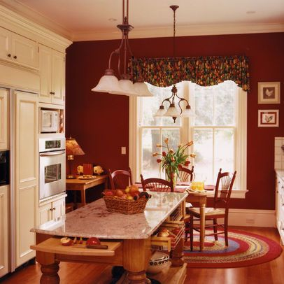 Kitchen Accent Wall Ideas Red Walls Design Pictures Remodel And Decor