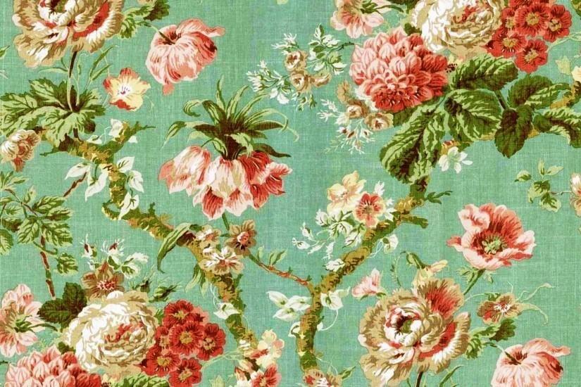 Vintage Floral Wallpaper Desktop High Resolution With Images
