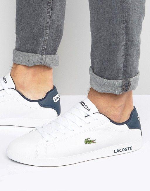 Lacoste Graduate Leather Sneakers