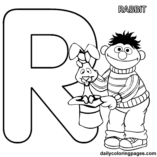 Sesame Street Alphabet | Coloring Book Pages | Pinterest | Sesame ...