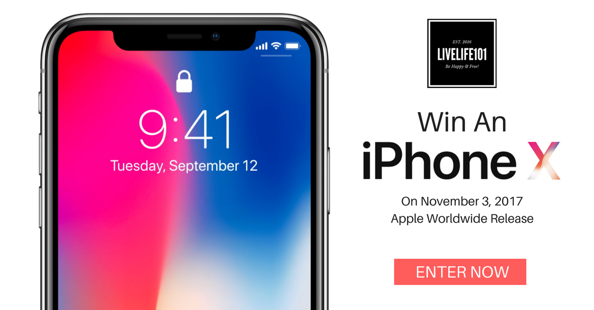 2f457eea0a6 Win An iPhone X! (Digital Lifestyle Giveaway) Open Worldwide – Ends Nov 3rd