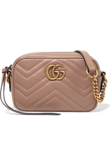 Gucci - GG Marmont Camera mini quilted leather shoulder bag