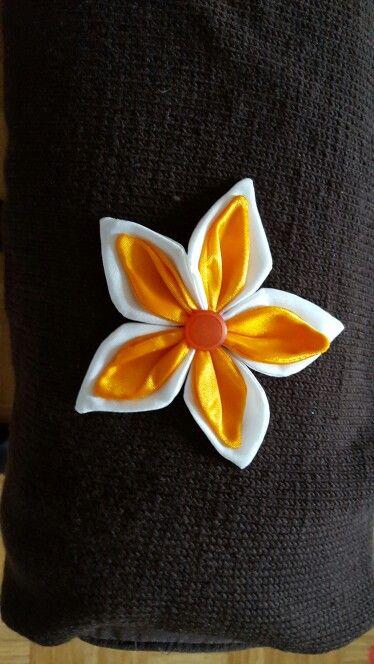 Fleur en soie