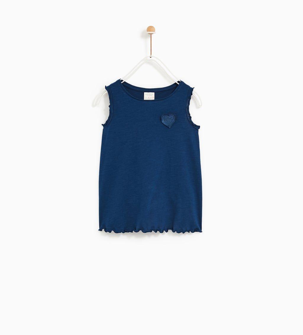 premium selection 28424 5fe7f T-shirt da Bambina | Nuova Collezione Online | ZARA Italia ...