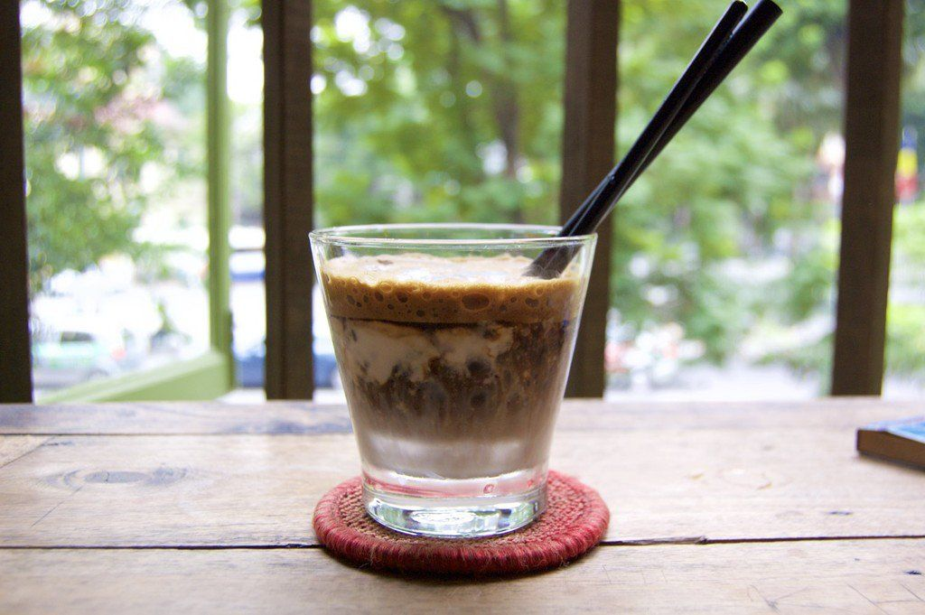 After Brazil, Vietnam is the world's second largest producer of coffee. Vietnamese coffee is strong; if you are not a big coffee drinker you can expect a caffeine high for hours. It is also very cheap. A cup of coffee usually costs between 20,000 - 35,000 VND (0.88 - 1.55 USD). Unlike coffee in other countries, Vietnamese coffee is always good whether you order it off the back of a street vendor's bicycle, in a cute coffee shop, or in a chain, such as Highlands Coffee. Vietnamese coffee is…