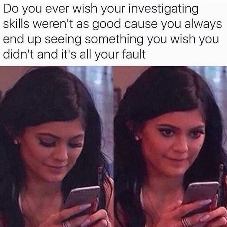 When You Are Lurking And Find Something That You Didn't