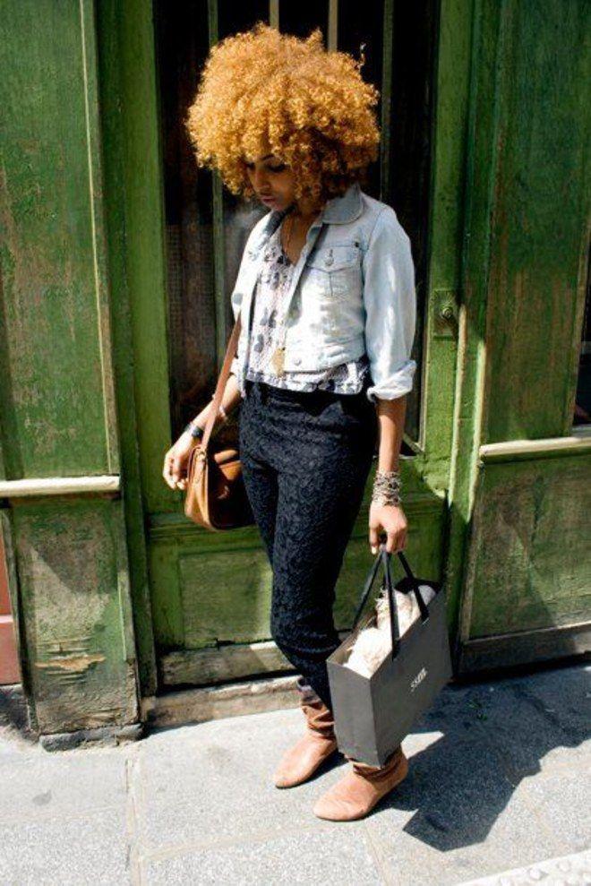 Negra e loira! +100 fotos para tomar coragem de descolorir os fios