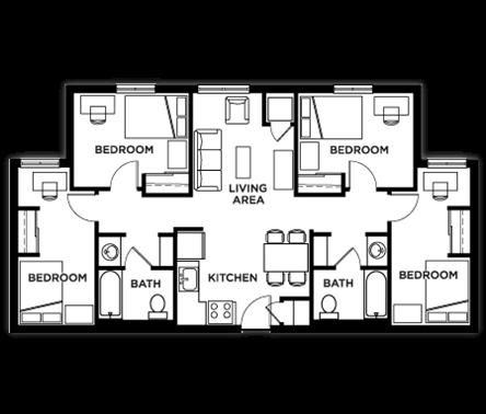 Student Housing Floor Plans Csi Student Housing Floor Plans Student House Student Accommodation