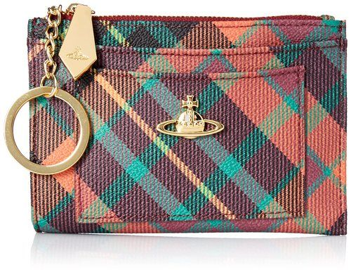 Vivienne Westwood Derbi Small Key Chain Wallet, New Exhibitions, One Size