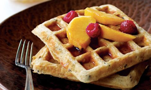 Sunday Brunch: Wild Rice Waffles with Smoked Salmon, Sour ...