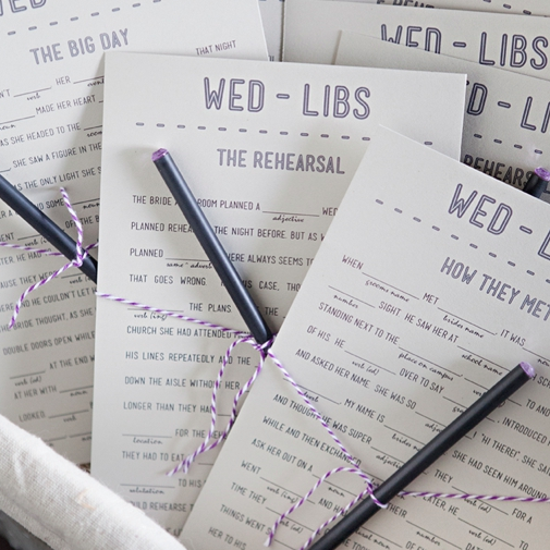 Wedding Vow Mad Libs Printable: Download And Print Your Own FREE Wedding Mad-libs