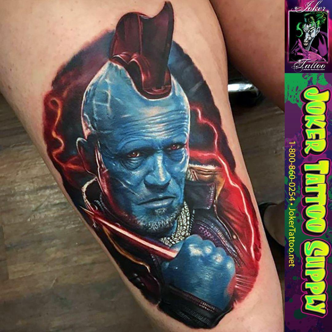 Another great tattoo by kylecotterman joker tattoo