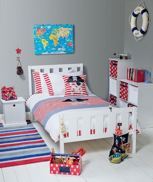 Pirate Bedroom ideas | Interiør til hjemmet- inspirasjon og ønsker ...