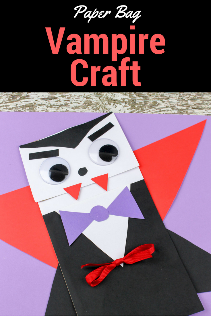 Vampire Craft for Kids | Halloween kinder, Halloween und Kind