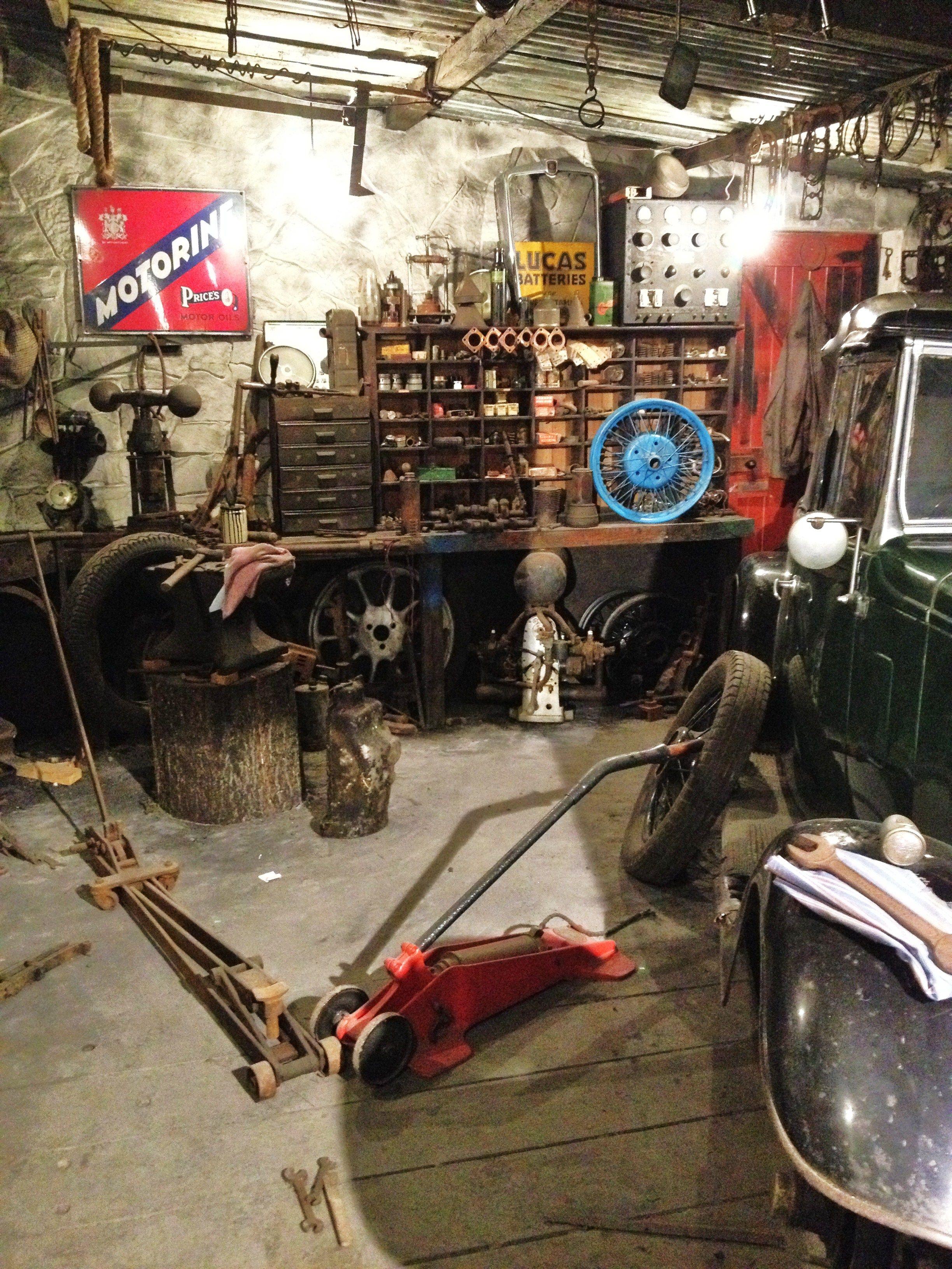 Looks Like My Garage Mechanic Garage Man Garage Old Garage