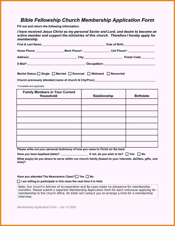 Church Membership Card Template Elegant 29 Of Sample Church Membership Form Template Business Plan Template Gym Business Plan Business Plan Template Free