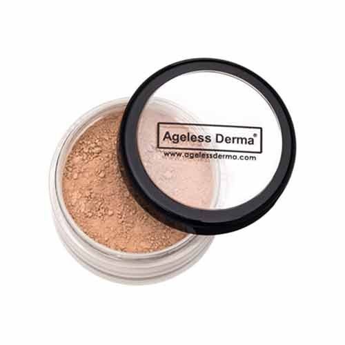 Ageless Derma Loose Mineral Foundation #mineralcosmetics