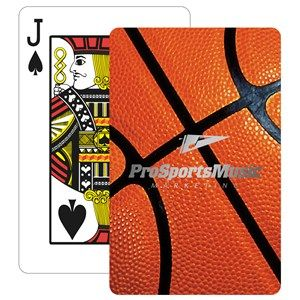 Hit A Slam Dunk With The Basketball Stock Design Bridge Playing Cards Featuring Your Logo On Every Card Each Bridg Bridge Playing Cards Foil Stamping Card Box
