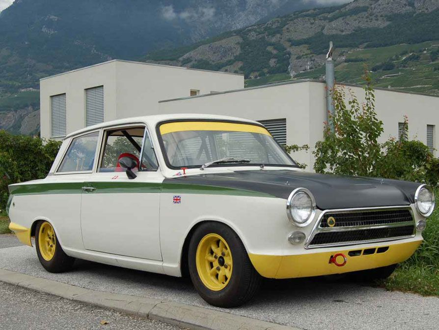 An Excellent Ex-Works Lotus Cortina For Sale | Cars | Pinterest ...