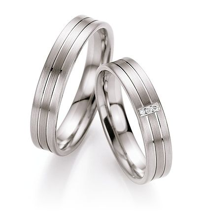 Palladium trouwringen met Diamant. Online veel geld besparen, bestel makkelijk en snel via onze webshop. Groot assortiment Palladium ringen. - € 995,00