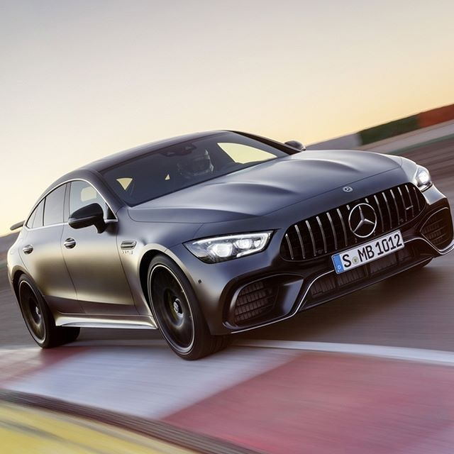 Mercedes Benz AMG GT 63 S - 2018 | Matte Love | Mercedes ...