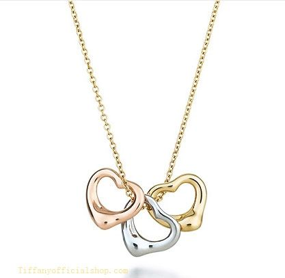 205b849aa1498 Tiffany Outlet Three Heart Pendant | Jewelry | Tiffany outlet ...