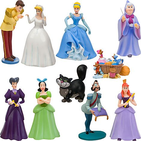 Cinderella Figure Deluxe Play Set Play Sets More Disney Store