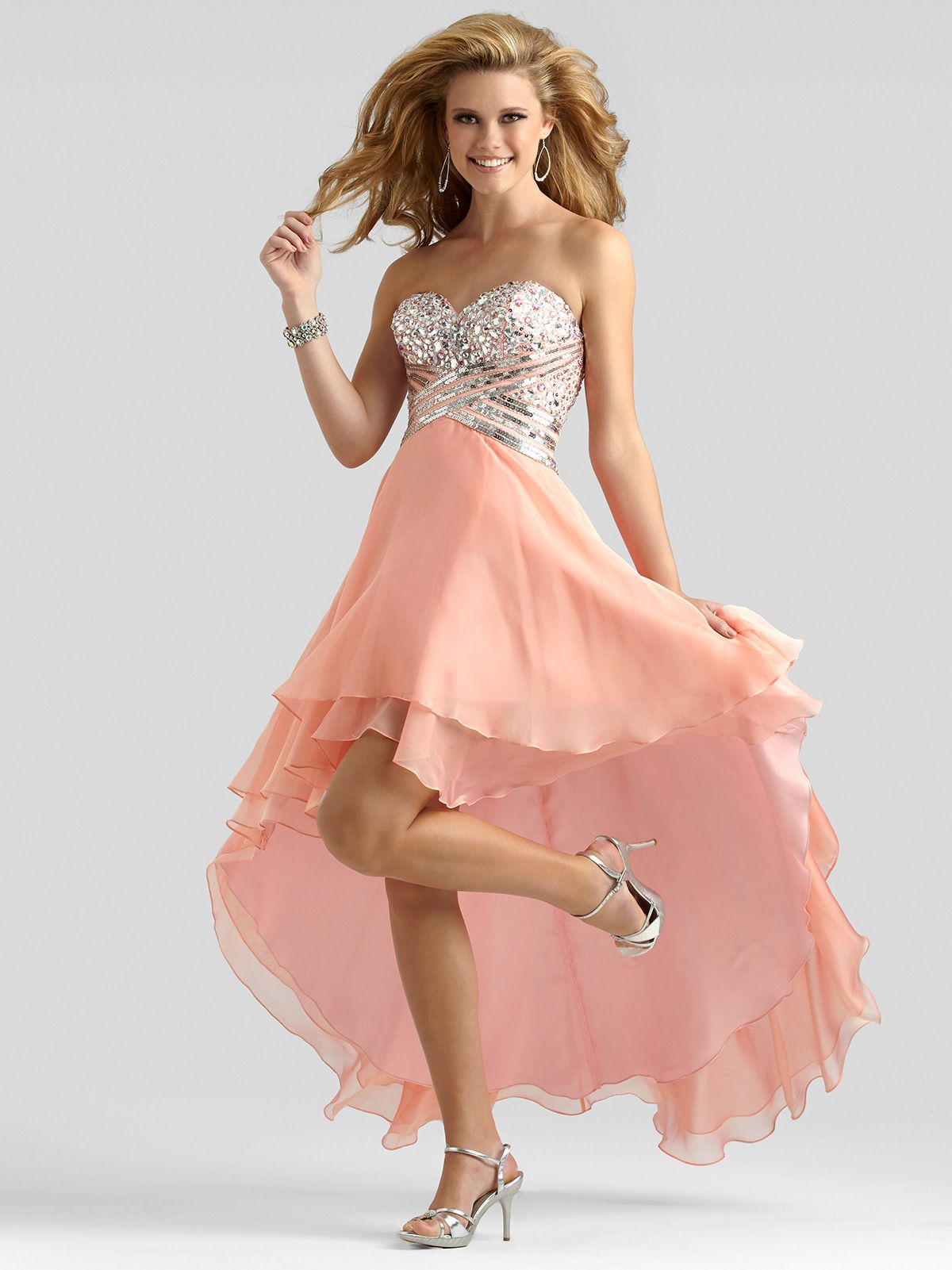 This fun and flirty Clarisse prom dress is a great choice for your ...