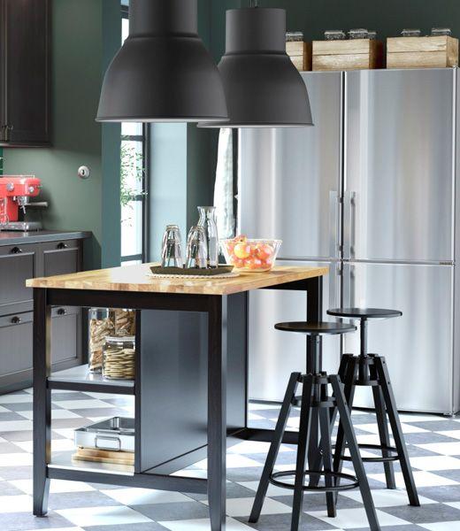 Stenstorp Wellicht Leuk Om Werktafel Van Te Maken Klein Appartement Keuken Home Decor Keuken Keukeneiland