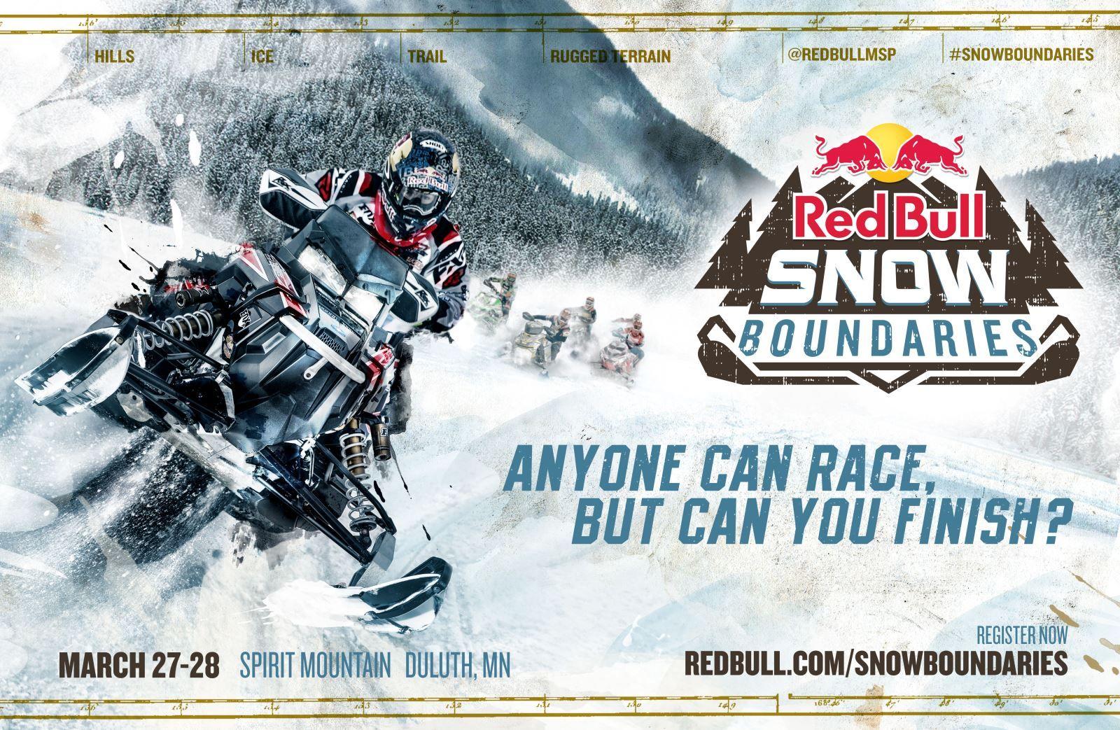 Red Bull Snow Boundaries To Bring Endurance Snowmobile Racing To Spirit Mountain Ski Resort Multi Discipline Endurance Race To Featu Snocross Racing Hill Climb
