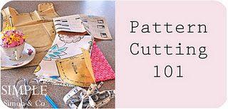How to cut a pattern