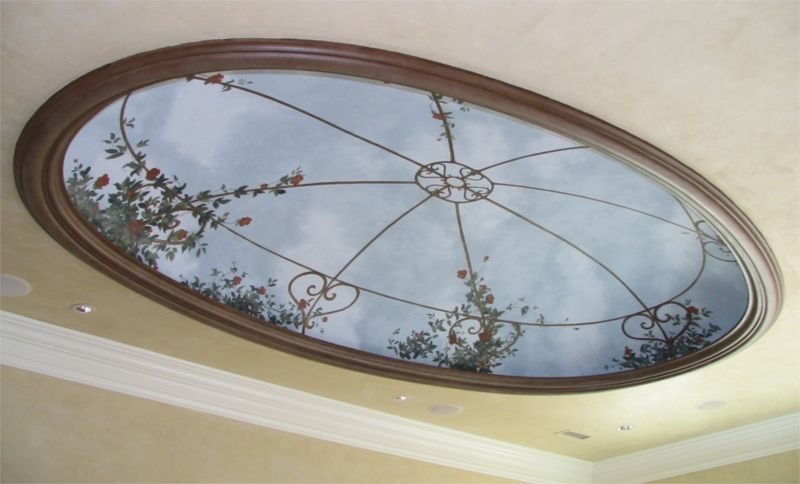 Ceiling Domes Gfrg Oval By Rwm Inc