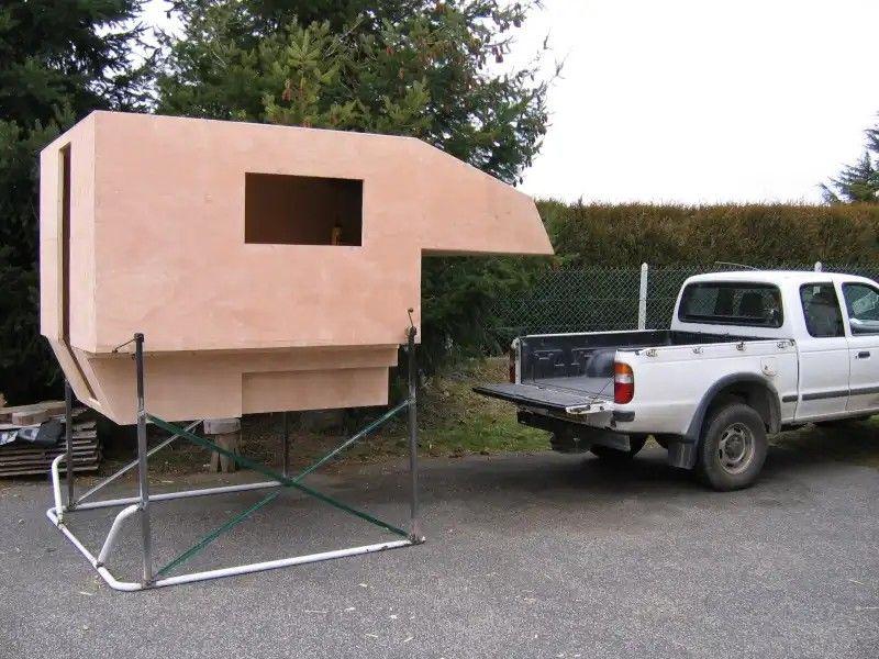 Cellule Diy Pickup Camping Pickup Camper Slide In Camper