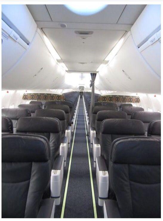 Alaska Airlines New Sky Interior Inside Alaska Airlines