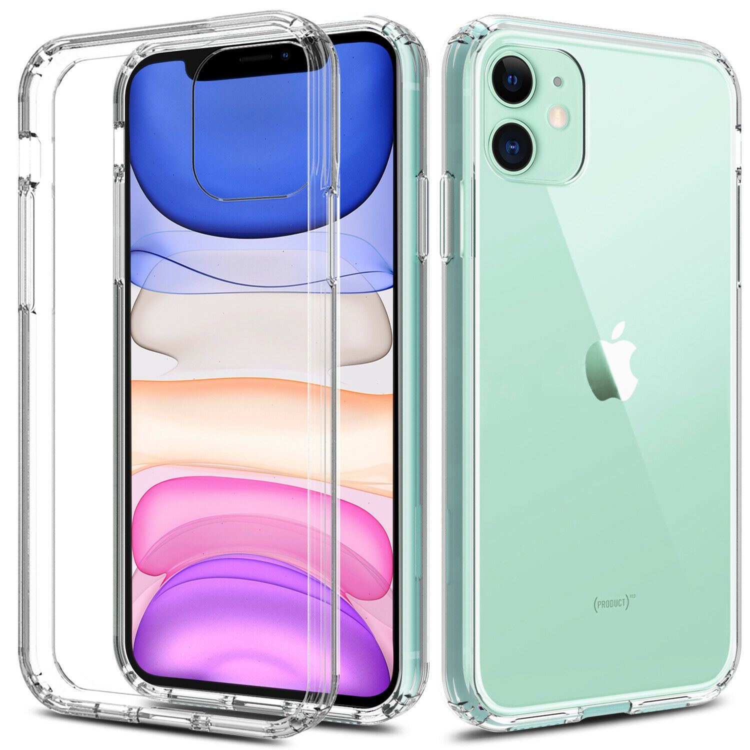 Cheap price for iphone 11 61transparent clear case